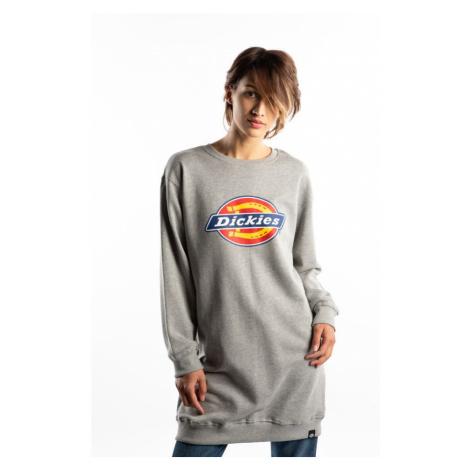Bluza Dickies Benham Sweatshirt Dress Grey Mela Dk230024Gym1 Gray Melange
