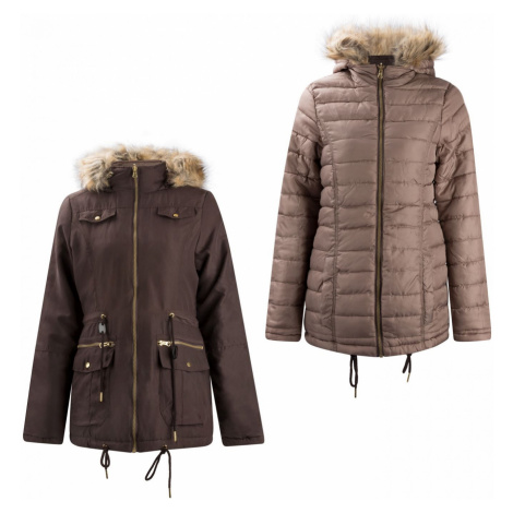 Lee Cooper Slim Padded Reversible Jacket Ladies