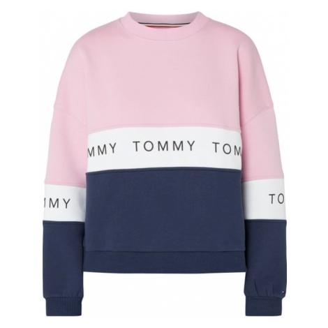 Bluza o pudełkowym kroju z nadrukiem z logo Tommy Hilfiger