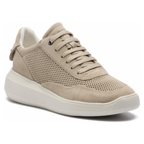 Sneakersy GEOX - D Rubidia A D84APA 00022 C6738 Lt Taupe