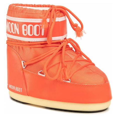 Śniegowce MOON BOOT - Classic Low 2 14093400004 Coral