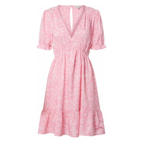 Miss Selfridge Sukienka 'MINNIE' różowy / biały