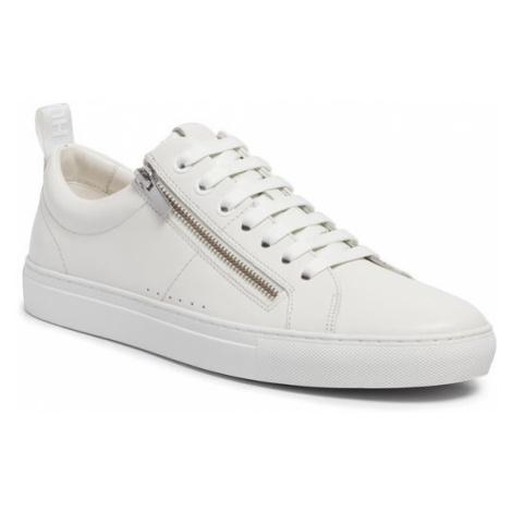 Hugo Sneakersy Futurism 50414609 10214585 01 Biały Hugo Boss