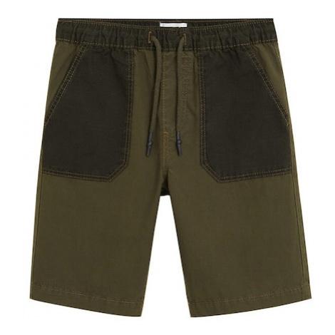 MANGO KIDS Spodnie 'Luis' khaki