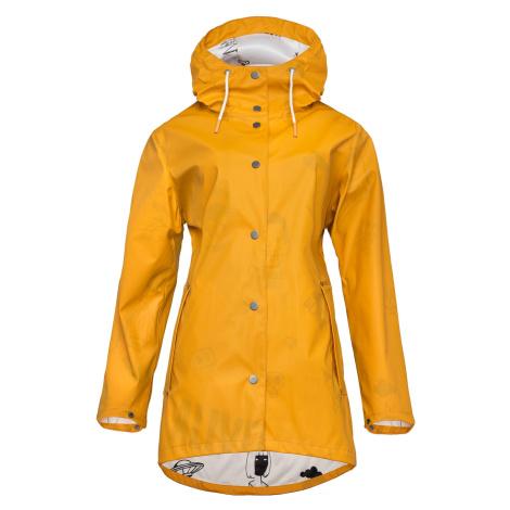 Płaszcz przeciwdeszczowy Pluviam Miejski Złoty Chica Woox