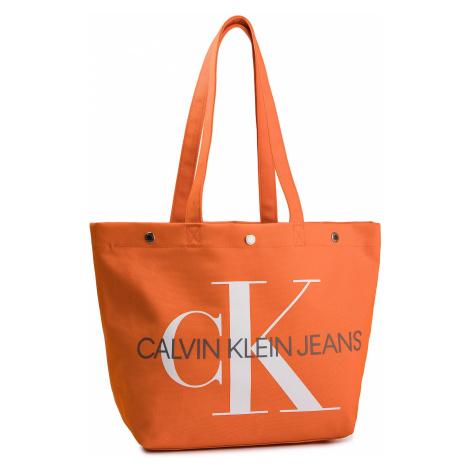 Torebka CALVIN KLEIN JEANS - Canvas Utility Ew Bottom Tote M K60K605310 805