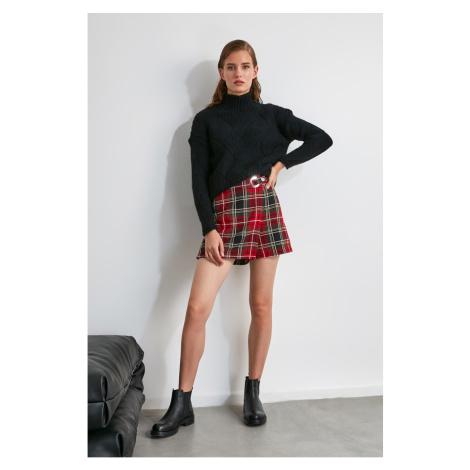 Trendyol Multi-Color Plaid Shorts & Bermuda