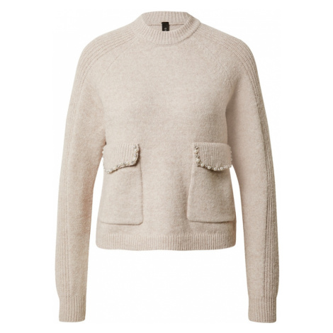 Y.A.S Sweter 'Mora' pudrowy