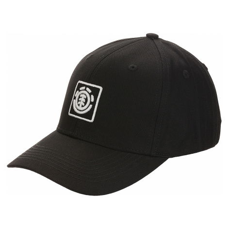 czapka z daszkiem Element Treelogo - Flint Black