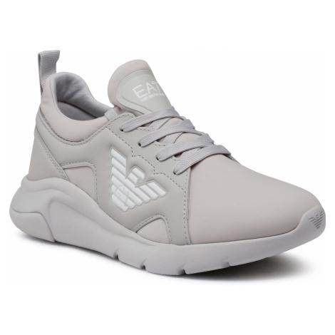 Sneakersy EA7 EMPORIO ARMANI - X8X056 XK168 N150 Vapor Blue/White