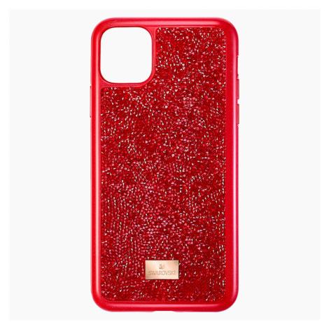 Etui na smartfona Glam Rock, iPhone® 11 Pro Max, czerwone Swarovski