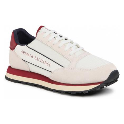 Armani Exchange Sneakersy XUX083 XV263 C424 Beżowy