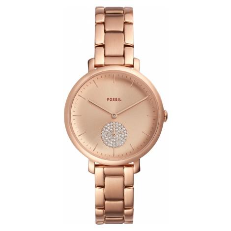 Zegarek FOSSIL - Jacqueline ES4438 Rose Gold/Rose Gold