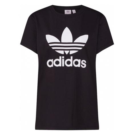 ADIDAS ORIGINALS Koszulka 'Boyfriend' czarny / biały