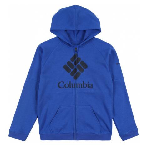 COLUMBIA Sportowa bluza rozpinana niebieski
