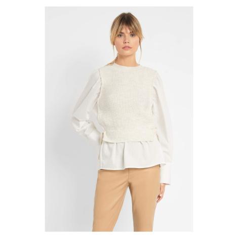 Sweter z koszulą Orsay