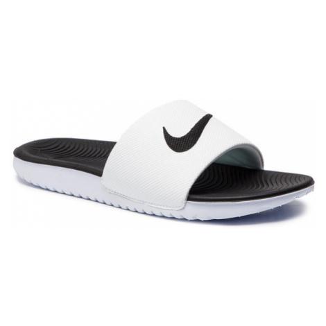 Nike Klapki Kawa Slide (GS/PS) 819352 100 Biały