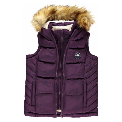 SoulCal Quilted Fleece Gilet Childrens Soulcal & Co