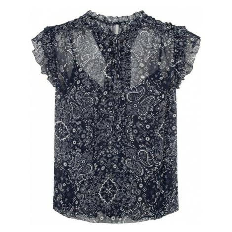 Pepe Jeans, Letizias Shirt Niebieski, female, rozmiary: