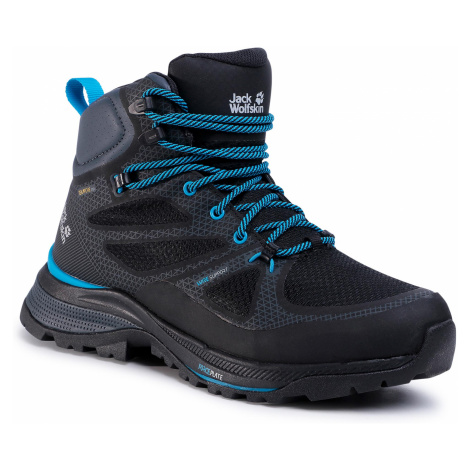 Trekkingi JACK WOLFSKIN - Force Striker Texapore Mid M 4038821 Black/Blue