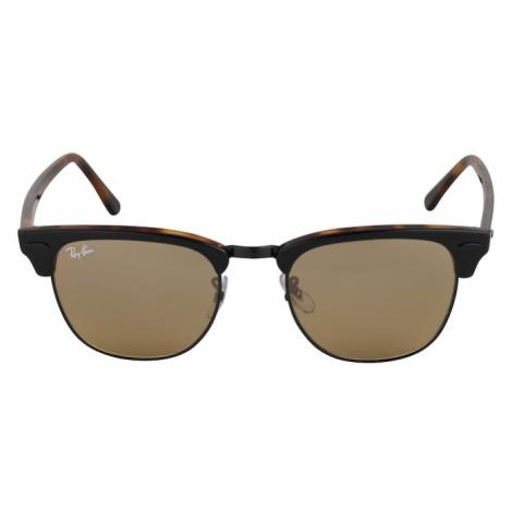 Ray-Ban Okulary przeciwsłoneczne 'Clubmaster' brązowy