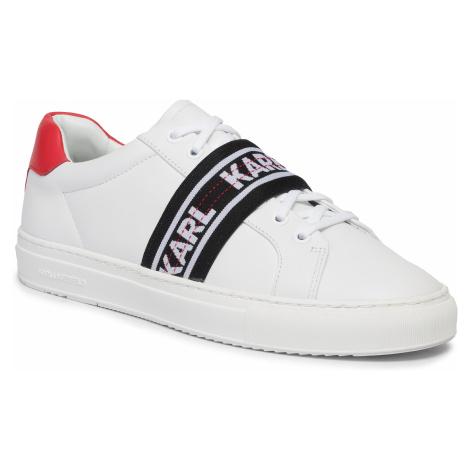 Sneakersy KARL LAGERFELD - KL51035 White Lthr