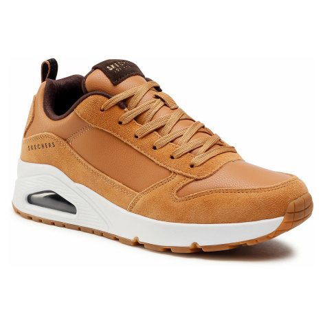 Sneakersy SKECHERS - Uno-Stacre 52468/WSK Whiskey