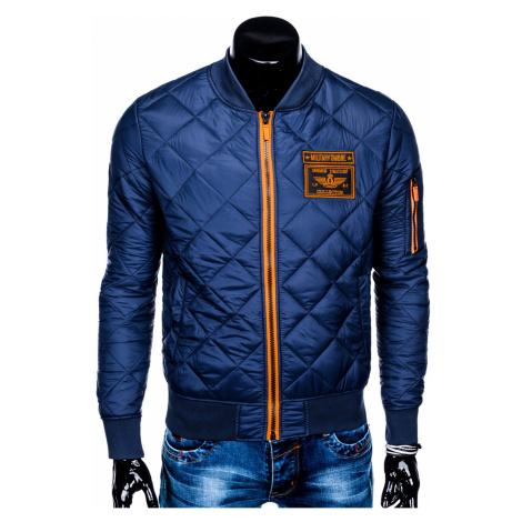 Ombre Clothing MEN'S MID-SEASON BOMBER JACKET C357