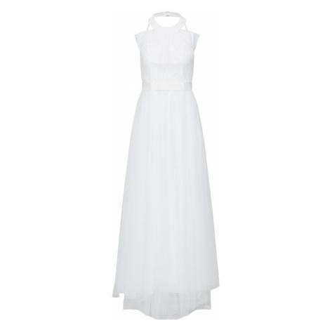Y.A.S Suknia wieczorowa 'YASWONDER HALTERNECK DRESS' biały