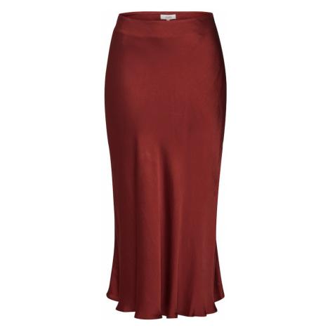 Mbym Spódnica 'Cosima' czerwony