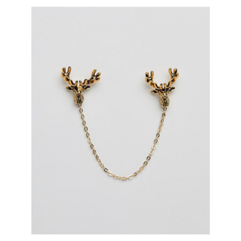 Twisted Tailor stag collar chain