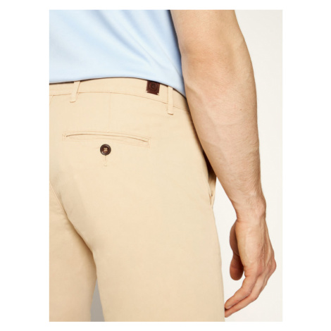 Pierre Cardin Szorty materiałowe 3465/2040 Beżowy Tailored Fit