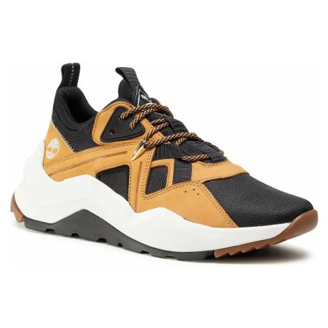 Sneakersy TIMBERLAND - Madbury F/L Ox TB0A42P6015 Black Mesh W Wheat