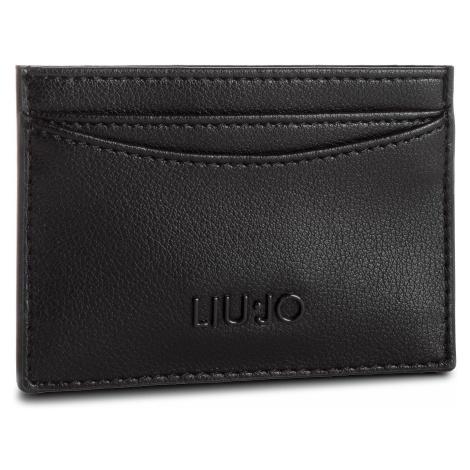 Etui na karty kredytowe LIU JO - Credit Card Case A19164 E0040 Nero 22222