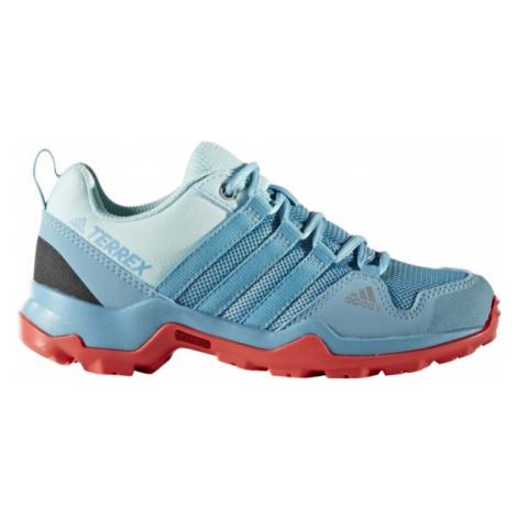 adidas TERREX AX2R K niebieski 28 - Obuwie trekkingowe dziecięce