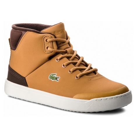 Sneakersy LACOSTE - Explorateur Classic3181CAJ 7-36CAJ0006434 Dk Tan/Dk Brw