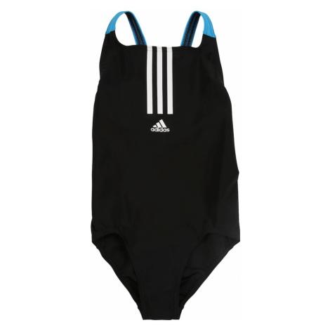 ADIDAS PERFORMANCE Moda plażowa sportowa biały / niebieski neon / czarny