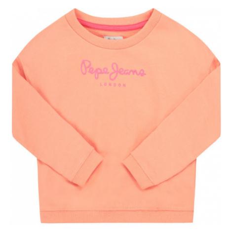 Pepe Jeans Bluza Rose PG581100 Pomarańczowy Regular Fit
