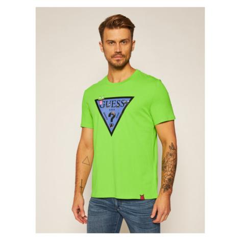Guess T-Shirt Monster M0YI51 I3Z00 Zielony Regular Fit