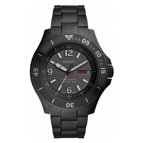 Zegarek FOSSIL - FB-02 FS5688 Black/Black
