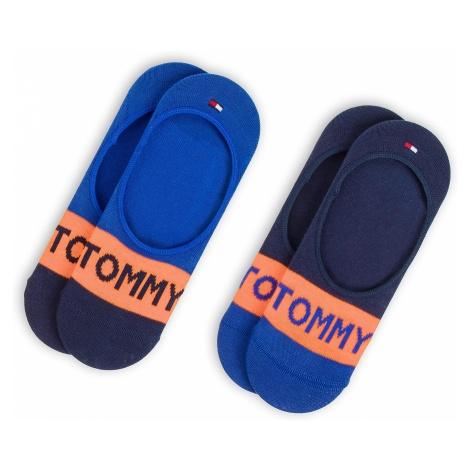 Zestaw 2 par stopek dziecięcych TOMMY HILFIGER - 384004001 Golden Poppy 067