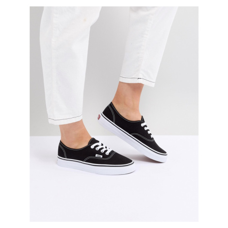 Vans Authentic trainers in black and white