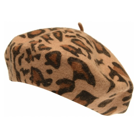 Biba Leopard beret