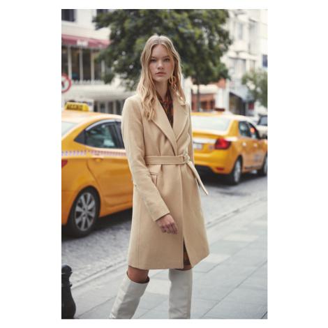 Women's coat Trendyol Belted
