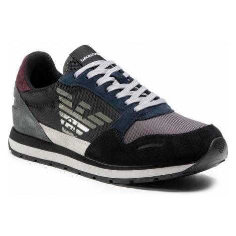 Emporio Armani Sneakersy X4X215 XL200 N064 Czarny