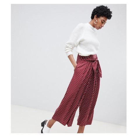 ASOS DESIGN Tall culottes in spot