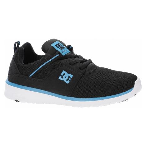 buty dziecięce DC Heathrow - XKBW/Black/Blue/White