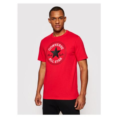 Converse T-Shirt Chuck Pack 10007887-A46 Czerwony Regular Fit