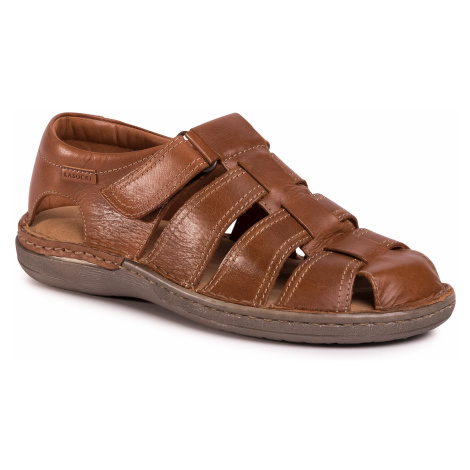 Sandały LASOCKI FOR MEN - MB-MARVIN-12 Camel