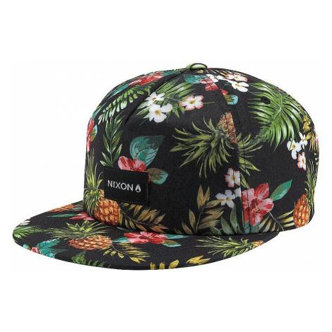 czapka z daszkiem Nixon Tropics Snapback - Black/Multi